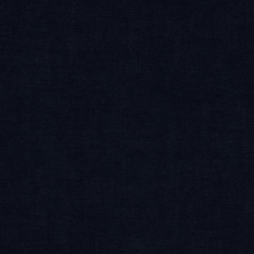 (TELIO Cotton Voile Navy Fabric by The Yard)