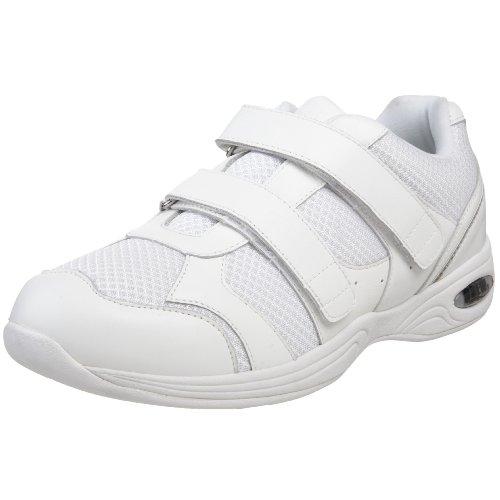 Drew Shoe Men's Apollo Athletic Shoe,White Leather/Mesh,10.5 M (Drew Mens Athletic Shoe)