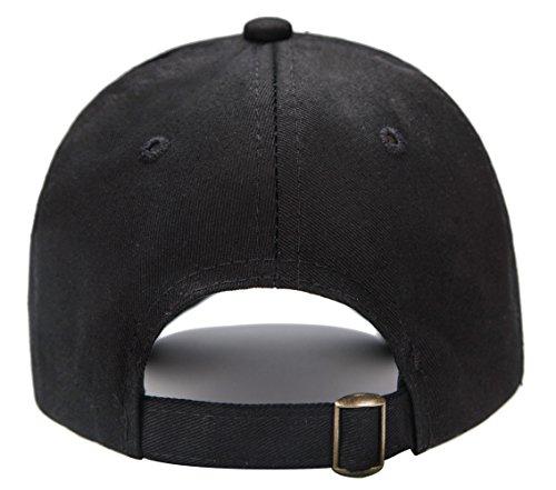 9eb4b2cc027 Edoneery Unisex Toddler Kids Plain Cotton Adjustable Low Profile Baseball  Cap Hat(A1009)