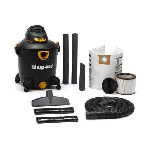 (Shop Vac 12 Gallon 5.0 Peak HP Wet & Dry Vacuum)