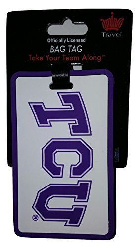 NCAA TCU Horned Frogs ID Tag Travel Luggage Bag - Weather Luggage Tag