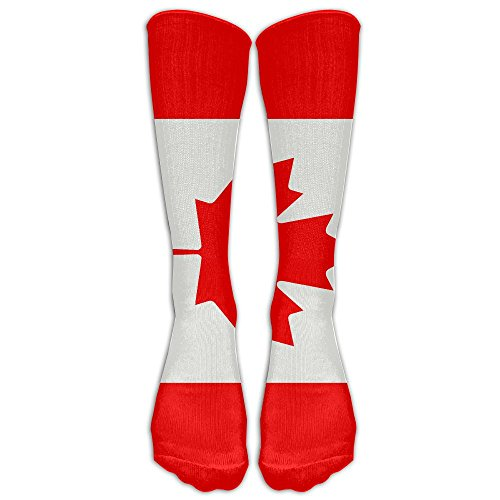Men&Women Canada Flag Printed Crew Socks Warm Over Boots Stocking Stylish Warm Sports - Canada Personalization
