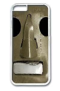 Big Face Vintage Robot Custom iphone 6 4.7 inch Case Cover Polycarbonate Transparent