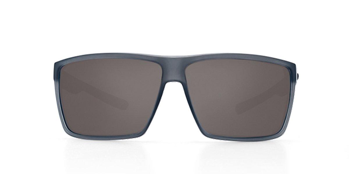 Gray 580P Matte Smoke Crystal Frame OS Costa Del Mar Costa Del Mar RIN156OGP Rincon Gray 580P Matte Smoke Crystal Frame Rincon