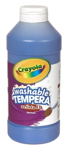 Crayola Artista Washable Tempera Paint