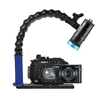 Amazon.com: MOZAIK fag7 X II carcasa submarina y Canon G7 X ...