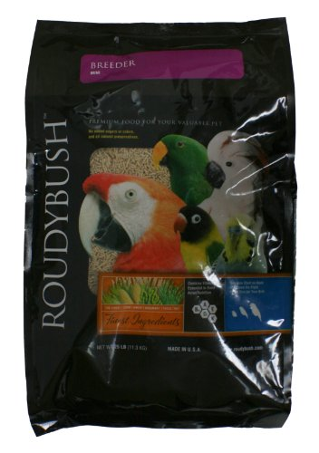 RoudyBush Breeder Bird Food, Mini, 25-Pound ()