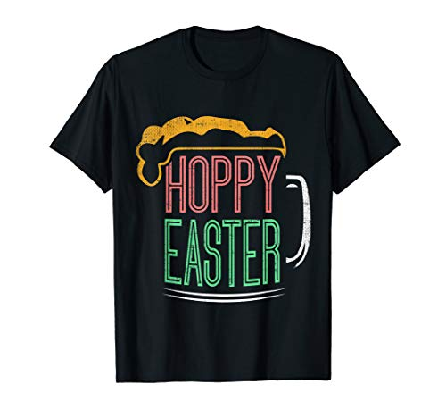 Hoppy Easter Beer Drinks T-shirt for Adults
