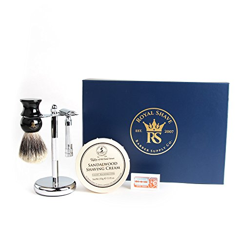 Merkur 34C Heavy Duty Safety Razor Set by RoyalShave by Merkur