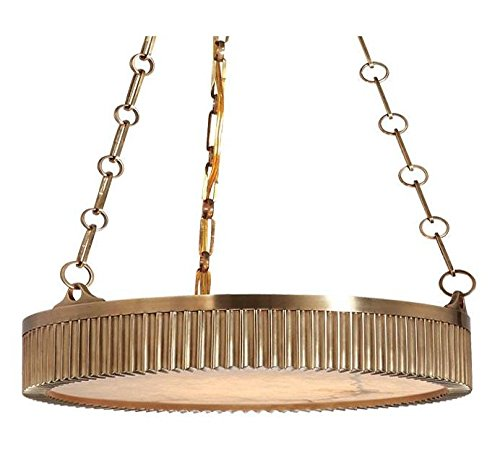 Disc Shaped Pendant Light in US - 8