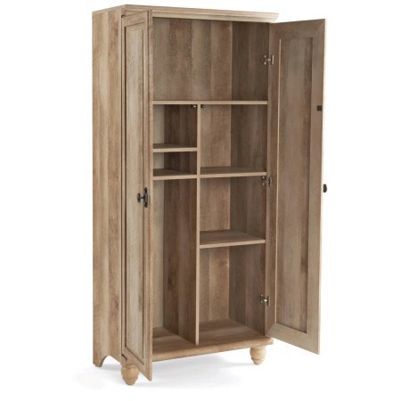 Better Homes and Gardens Crossmill Storage Cabinet, Multiple Finishes, Weathered