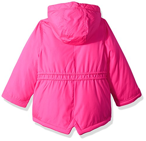 Carter's Little Girls' 4 in 1 Heavyweight Systems Jacket, Pink Llamas, 5/6 by Carter's (Image #2)