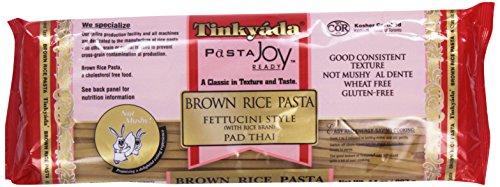 Tinkyada Pasta Joy Ready, Fettucini, Brown Rice, 14 - Pasta Wheat Gluten Free Free