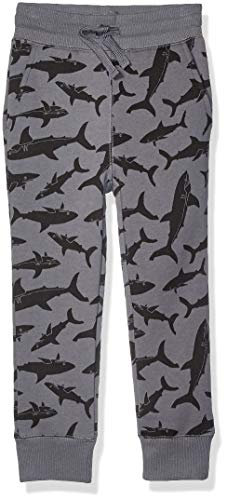 Amazon Essentials   Boys' Fleece Jogger Sweatpant, Grey Shark XXL (14) (Shark Xxl)