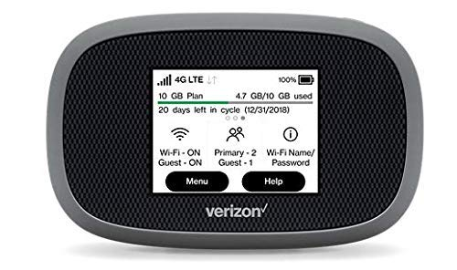 Verizon Wireless Jetpack 8800L 4G LTE Advanced Mobile Hotspot (No Sim Card Included) by Inseego