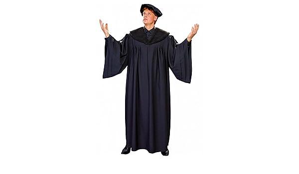 Disfraz de reformador académico Luther Profesor Talar cap ...