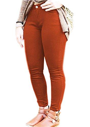 Vaqueros Mujer Fashions Herrumbre SA para HnT5c6qS
