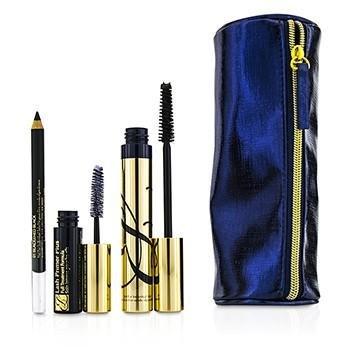 9c86e9f5cb7 Amazon.com : Estee Lauder Dramatic Eyes 4 PCS Set Sumptuous Extreme  Mascara, Kajal Eyeliner, Lash Primer, Makeup Bag. : Beauty