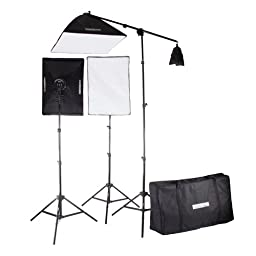StudioPRO Photography Photo Video Studio Continuous Two 5 Socket Heads 20\