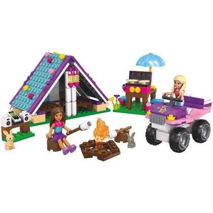 Mega Bloks My Life As Summer Camp Play Set