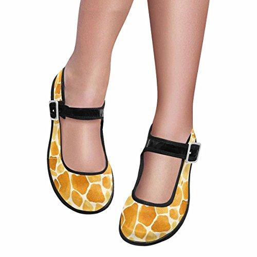 Interestprint Womens Comfort Mary Jane Flats Casual Scarpe Da Passeggio Multi 11