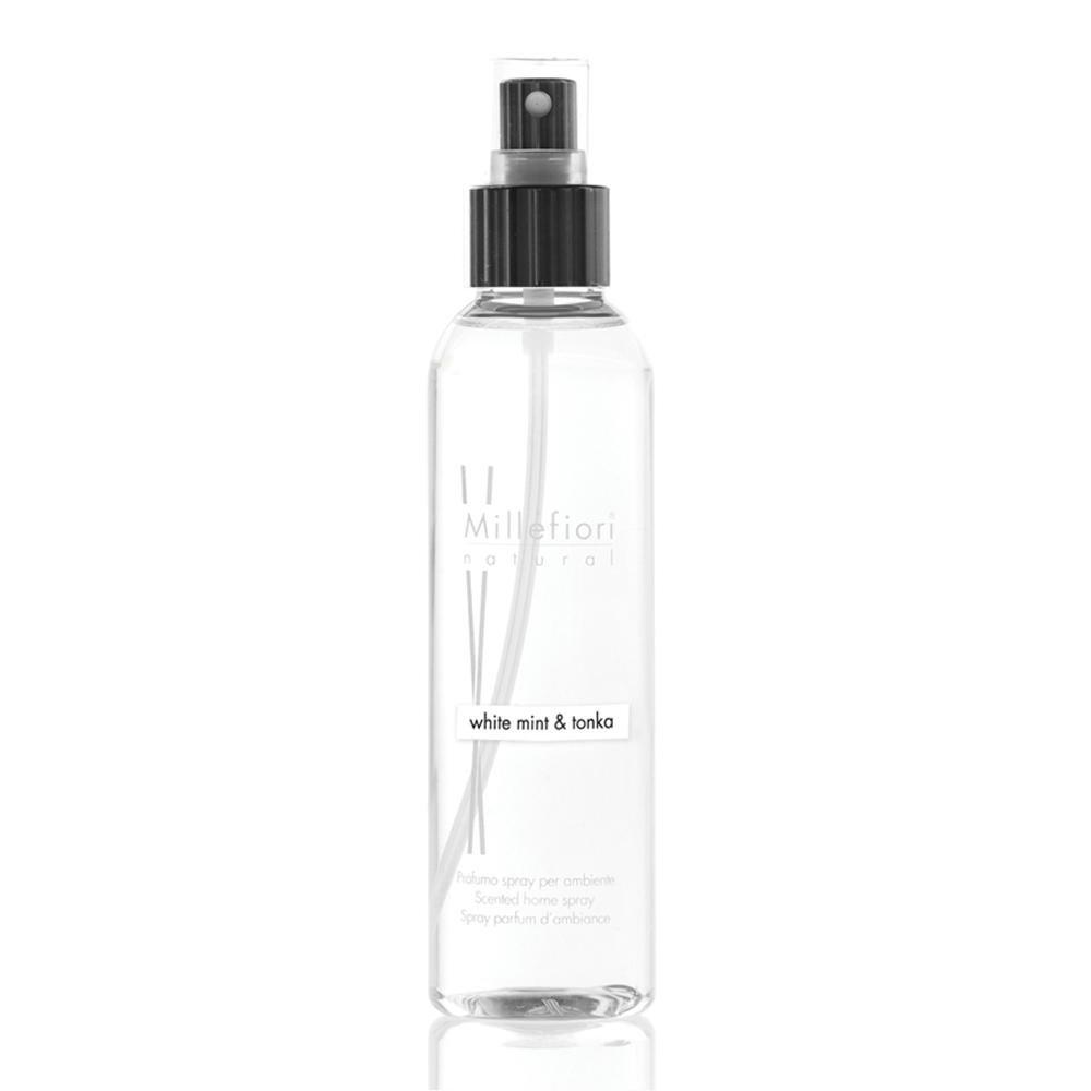 Millefiori Collezione Natural Spray profumato per Ambiente, White Mint & Tonka, 150ml 7SRWT