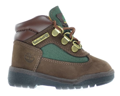 Timberland Baby Toddlers Field Boots Brown/Olive Green 16837 (11.5 M (Olive Kids Outlet)