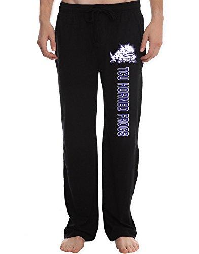 XTD Men's TCU Horned Frogs College Lounge Pajama (Tcu Mens Pants)
