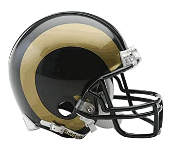 Riddell NFL St. Louis Rams Replica Mini casco de fútbol ...