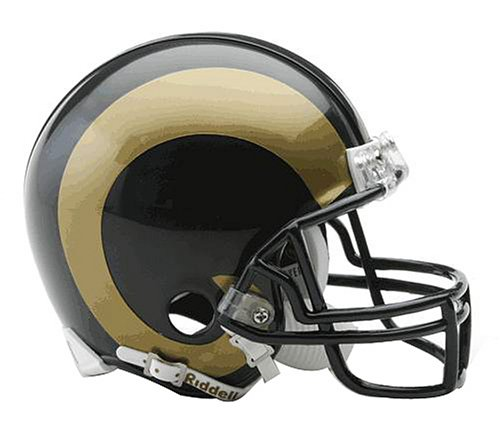 NFL St. Louis Rams Replica Mini Football Helmet (St Louis Rams Replica Helmet)