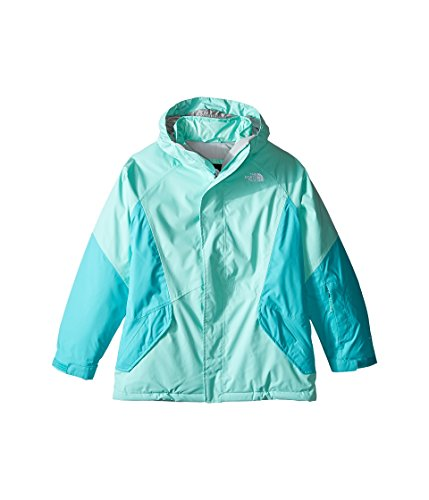 - The North Face Kids Girl's Kira Triclimate¿ Jacket (Little Kids/Big Kids) Ice Green (Prior Season) X-Large