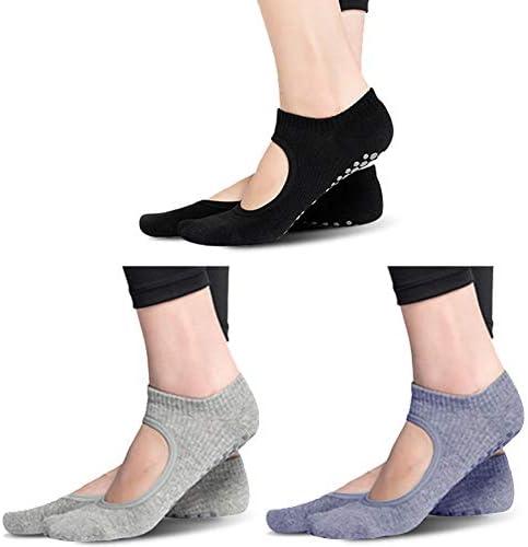 Yoga Socks for Women, Gmall Yoga Socks for Pilates, Pure Barre, Ballet, Dance, Workout