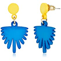 Funky Fish Drop Earrings for Women (Multicolor) (I-671_G7297473314038)