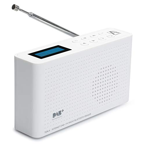 Anadol 4-in-1 IDR-1 radio – draagbare internetradio – geschikt voor DAB/DAB+ en FM – Bluetooth-luidspreker & Wifi…