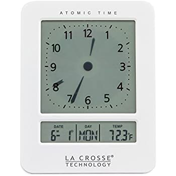 how to set la crosse analog atomic clock