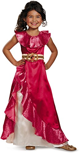 Elena Adventure Dress Classic Elena of Avalor Disney Costume, Medium/7-8 -