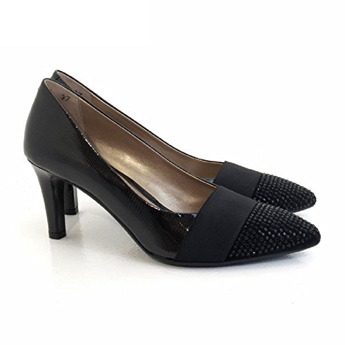 MELLUSO Women's Court Shoes Nero qUgAx5s