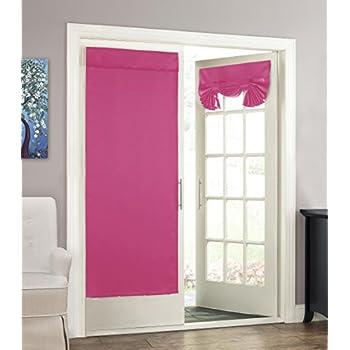 Amazon Com Flamingo P Blackout French Door Curtain
