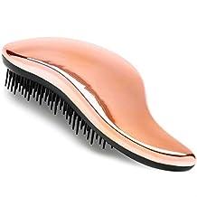 #1 BEST Detangling Brush - Detangler Hairbrush for Wet, Dry, Fine, Thick & Kids Hairbrush. No More Tangle! 100% Lifetime 'Happiness' Guarantee! Rose Gold