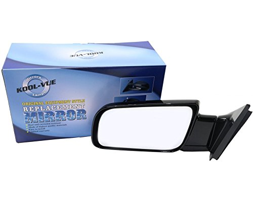 Kool Vue GM24L Chevy C/K Standard Size Pickup Truck Driver Side Mirror, Manual, Paint to Match
