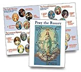 Pack of 100 How to Pray the Rosary Pamphlet for First Communion or New Catholic