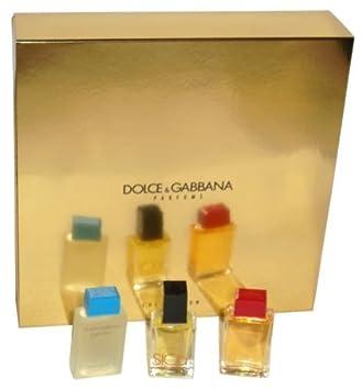 amp;g Perfume Light D Set Dolceamp; For Women BlueSicily Miniature Gabbana VpSMUz