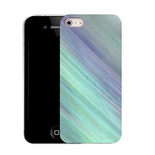 Mobile Case Mate IPhone 5S clip on Silicone Coque couverture case cover Pare-chocs + STYLET - sky gradiant pattern (SILICON)