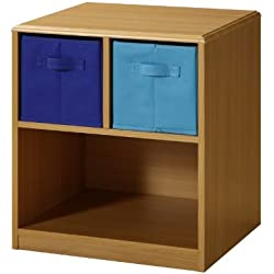 4D Concepts Boys 2 Drawer Nightstand - Beech