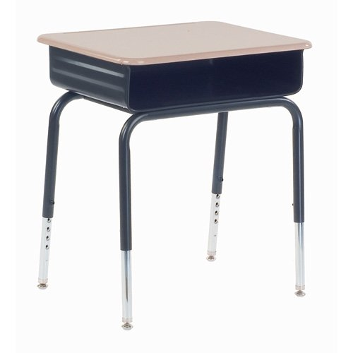 785 Series Metal Book Box Desk, 4-3/4