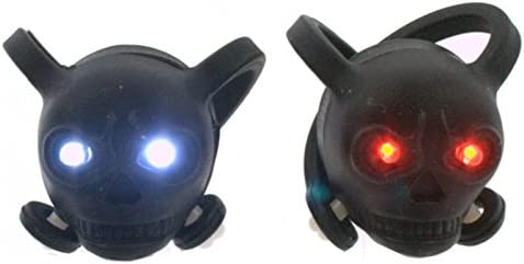Calavera LED luces de bicicleta – Cráneo Faro Lámpara Calavera ...