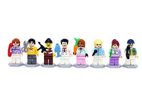Homecoming Kids 48 Minifigures Building Bricks Community People Accessories, Building Party Toys Gift by Homecoming Kids (Image #1)