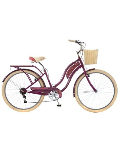 Kulana Women's Kahu 26'' Cruiser Bike (Purple)
