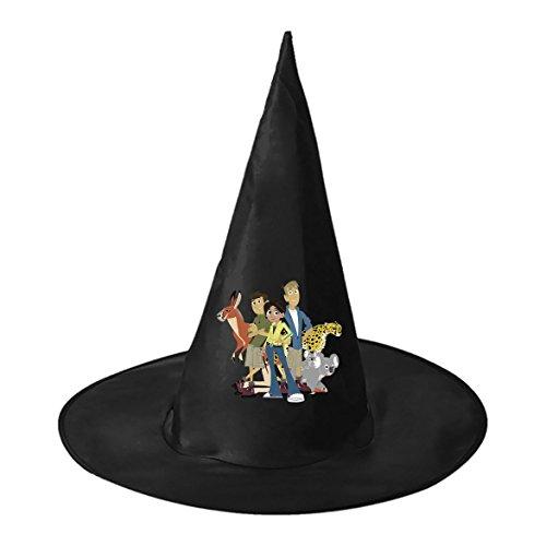RRUH Halloween Black Witch Hat-Wild Kratts (Wild Kratts Martin Costume)