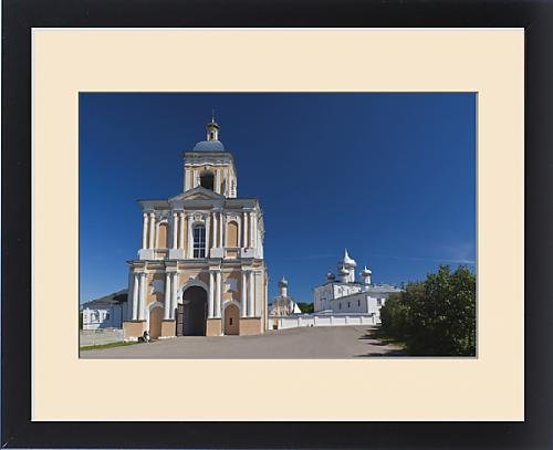 Framed Print of Russia, Novgorod Oblast, Veliky Novgorod, Saint Varlaam Convent by Fine Art Storehouse